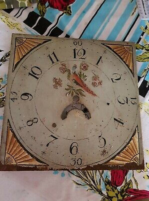 antique grandfather clock face, Horology, ok condition