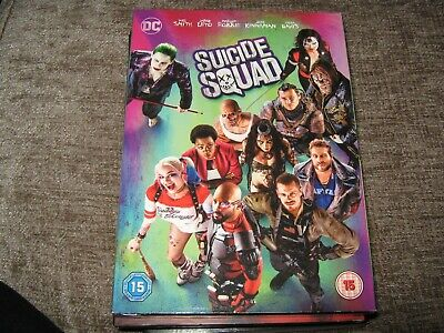 Suicide Squad DVD (2016) Will Smith, Ayer (DIR) cert 15