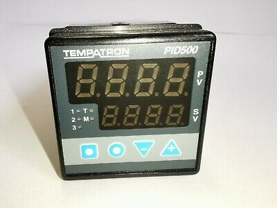 Tempatron Pid500 - Pid Controller 24Vac/Dc Powered 2X Relay