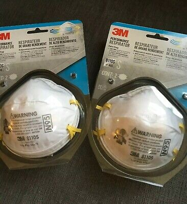 3M 8110S N95 (4 PACK) Respirator Face Mask SMALL Child, Kids, & Woman FREE SHIP