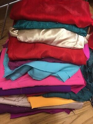 1.5 KILO bag of fabric remnants-off cuts-Bundle-Craft making projects-Scrapbook