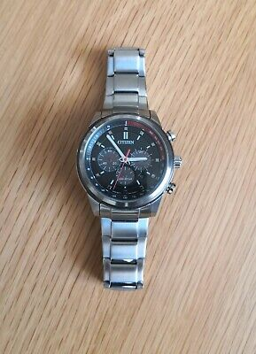 Gent's Citizen Eco-Drive Chronograph Watch (AT2370-55E) - IMMACULATE CONDITION