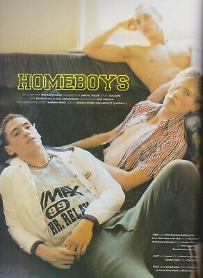 RARE Mariano Vivanco Homeboys Editorial  /  Magazine REF1119