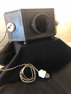 Vintage Rare The Little Buckeye Stereoptican