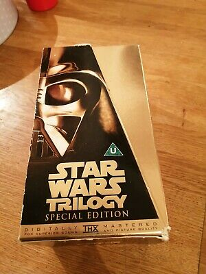 STAR WARS Trilogy VHS Special Edition Box Set 3 VHS Videos
