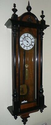 Antique Vienna Regulator Wall Clock (Deadbeat Escapement) Date: c1880