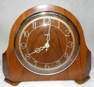 SMITHS 8 DAY MANTLE CLOCK  1950'S Needs Attention