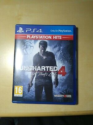 Uncharted 4: A Thief's End PS4 (Playstation 4)