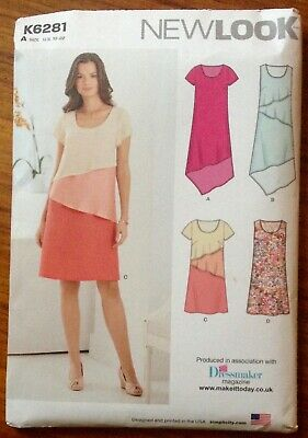 New lookSewing Pattern K6281 Size 10-22