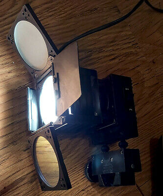 PAG Paglight ML Camera light with barn doors, diffusion & dichroic filters