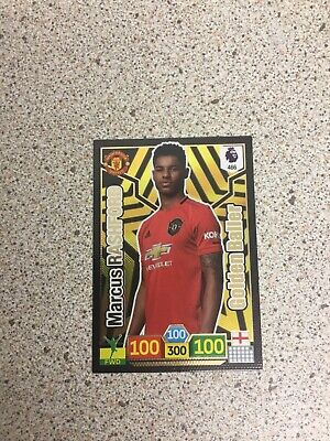 Panini Adrenalyn Xl Premier League 2019/20 Marcus Rashford Golden Baller Card
