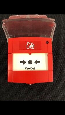 EMS Firecell Wireless / Hybrid Fire Alarm Manual Call Point Red