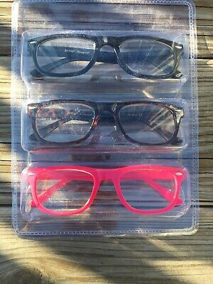 +2.50 New Authentic Betsey Johnson Readers In+2.50 No Box