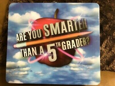 "VINTAGE 2007  Game ""Are You Smarter Than A 5th Grader"" by Cardinal Industries"
