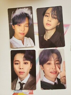 Jimin Official Photocard BTS Map Of The Soul : 7 ALL VERSIONS 1-4 Genuine Kpop