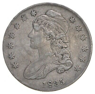 1835 Capped Bust Half Dollar *6779