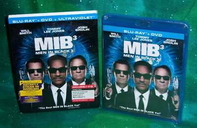 New Rare Oop Target Exclusive Men In Black 3 Mib 3 Movie Blu Ray Dvd & Slipcover