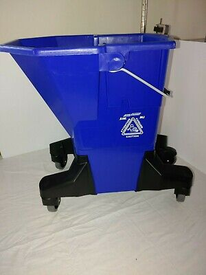 SYR 940916-S MJ Bucket w/Silent Casters  (Blue)