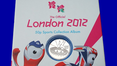 COMPLETER MEDALLION LONDON 2012 OLYMPIC 50P COIN COIN HUNT a