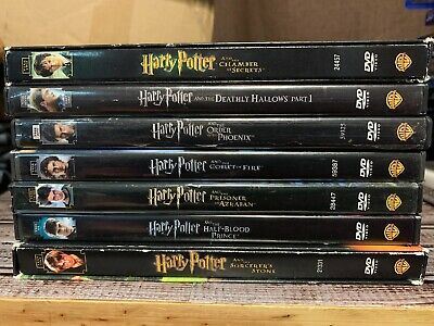 Harry Potter: Complete 7-Film Collection Individual DVD