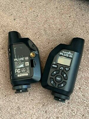 PocketWizard Plus III Transceiver - Set of 2 with bag