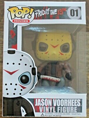 Funko POP Friday the 13th JASON VOORHEES JASON Friday the 13th #01