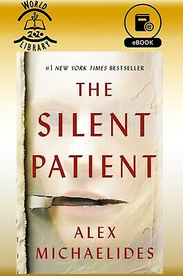 THE SILENT PATIENT by Alex Michaelides  💥PDF⭐MOBI⭐EPUB⭐