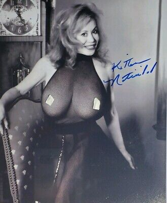 Kitten Natividad Hand Signed 8x10 Photo w/Holo COA
