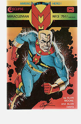 Miracleman 3   Classic  Alan Moore Series /  Eclipse  Comics