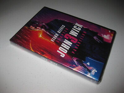 John Wick Chapter 3 Parabellum DVD - Free Shipping New & Sealed