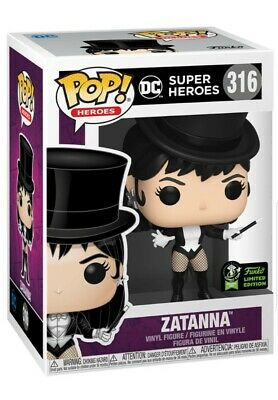 Zatanna Justice League Dc Funko Pop 2020 Eccc Official Sticker Exclusive