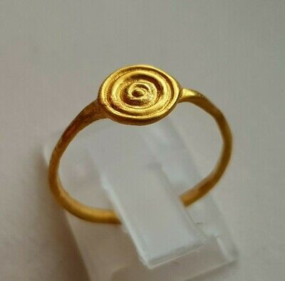 ANCIENT CELTIC PURE GOLD RING - circa 300 BC.