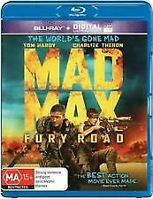 Mad Max Fury Road Blu Ray - Like New Charlize Theron, Tom Hardy Free Post