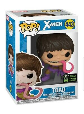 Toad X-Men Marvel Funko Pop 2020 Eccc Official Sticker + Protector Included!