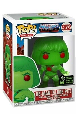 ECCC Exclusive Funko Pop MOTU HE-MAN SLIME PIT Official Con Sticker W/PROTECTOR