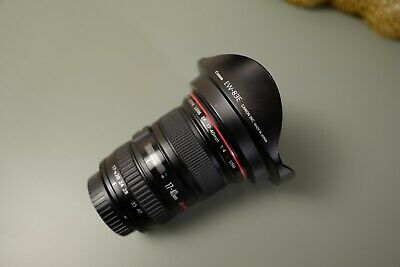 Canon EF 17-40 mm f/4 L USM Lens - Fully functional!