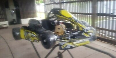 Evo Cadet 950mm chasiss with blueprinted KT100jmotor RACE READY,Plus Tralier