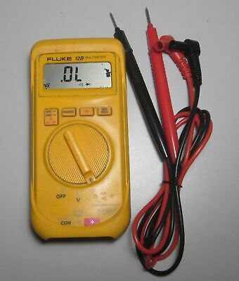 Rare FLUKE-12B Hand Held Accurate Multimeter with battery