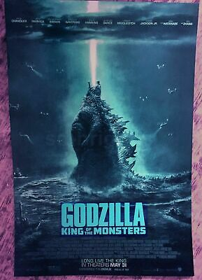 GODZILLA ORIGINAL Movie poster shout laser beam Tokusatsu SDCC NYCC 2019