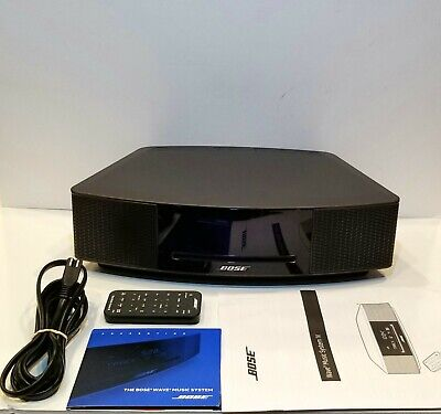 Bose Wave Music System IV Espresso Black 737251-1710, Open Box Item