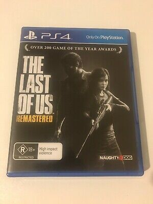 The Last of Us Remastered Playstation 4 - PS4