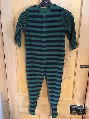 Mothercare childrens green/blue one piece  onesey age 3-4 years