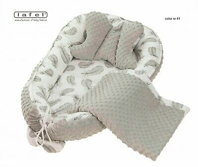BabyNest Newborn Reversible Cocoon Bed Sleep Kokon Newborn Cushion Lafel