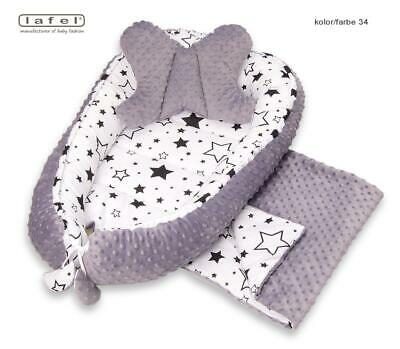 BabyNest Newborn Reversible cocoon bed Sleep Cocoon Newborn Cushion New fashion