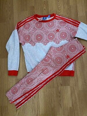 Girls Adidas Leggings And Jumper Age 11/12