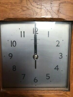 Synchronome Electric Wall Clock - Made in England
