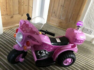 6V Pink Electric Princess Stardom Bike Chad Valley- Brand new COLLECTION ONLY