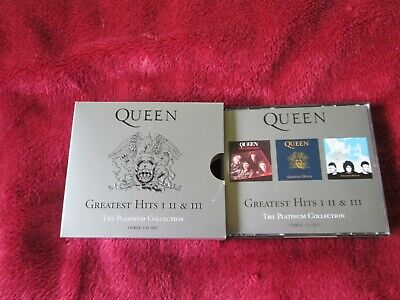 Queen - Platinum Collection, Vol. 1-3 (2006) - 3 Cd Box Set
