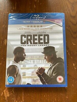 Creed The Rocky Legacy Sylvester Stallone New Blu Ray 5051892195584