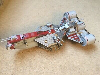 Lego Star Wars Frigate (7964), complete with mini figures, instructions, no box